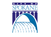 City of Spokane logo.