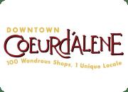 Coeur d'Alene Downtown Association logo.